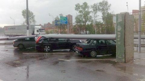В Москве прошел ураган