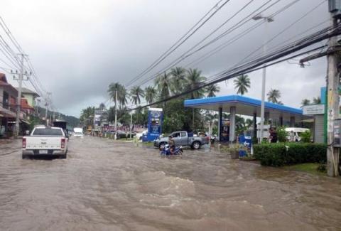 В Таиланде произошло наводне…