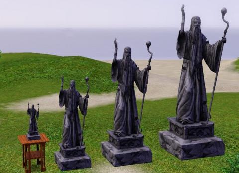 Статуи из The Sims Medieval от TheNinthWave