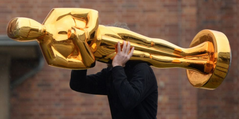 Статуэтка «Оскар»: позолочен…