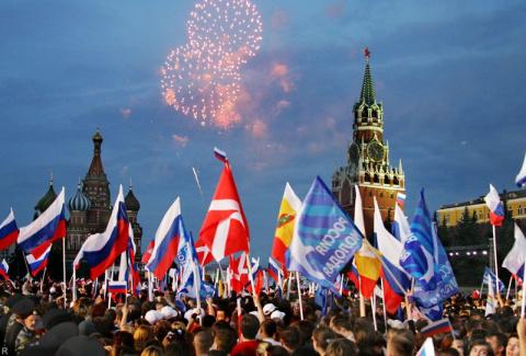 Путин примет участие в празд…
