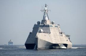 Американский новейший корабл…