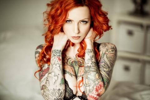 Татуированные бабы