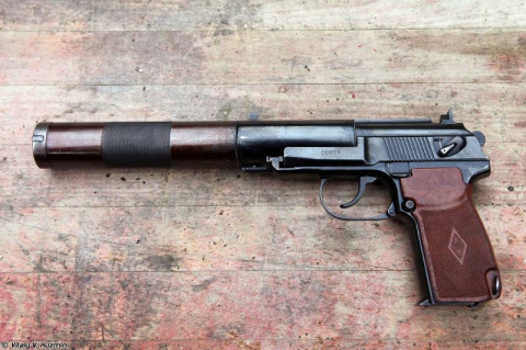 Бесшумный пистолет ПБ (6П9):…