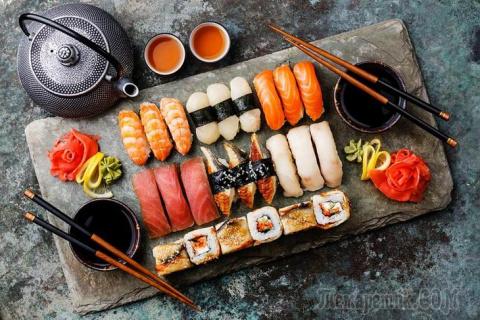 Как похудеть на суши? Интере…