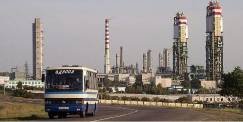 Одесский припортовый останов…