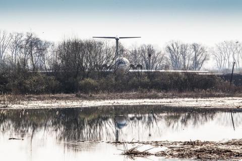 Самолет Брежнева в украинско…