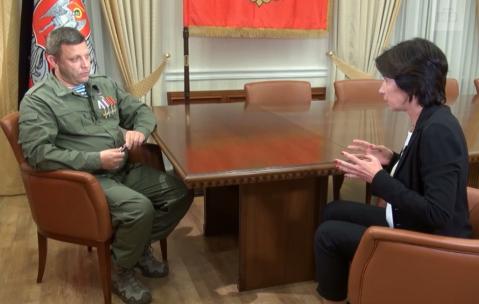 Захарченко назвал лучший способ прекратить войну на Донбассе