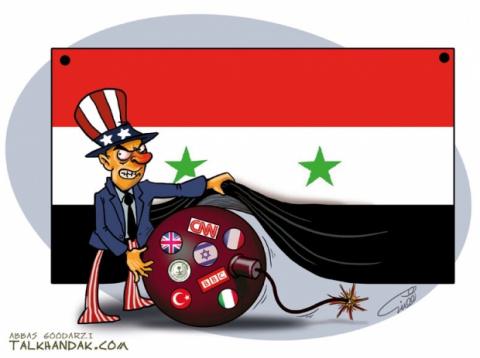 США начали против Сирии всем…