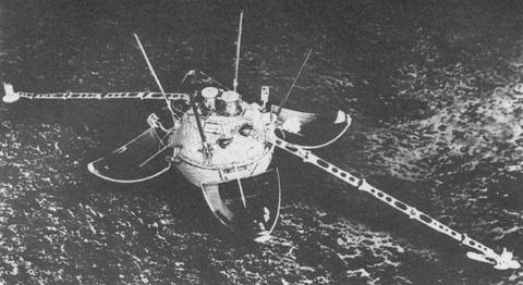 Загадочные снимки советского космического аппарата «Луна-13»