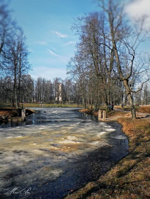 Апрельская прогулка по паркам Царского села. Часть первая. Александровский парк.