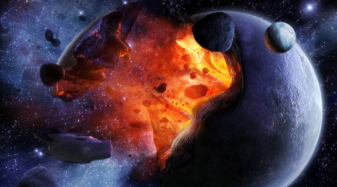 Гибель галактик во Вселенной…