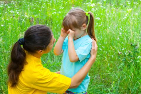 Как успокоить разгневанного или обиженного ребенка. Стихи для развития дикции у детей