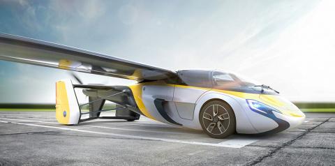 Летающее авто от AeroMobil