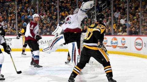 НХЛ. «Колорадо» за 12 секунд…