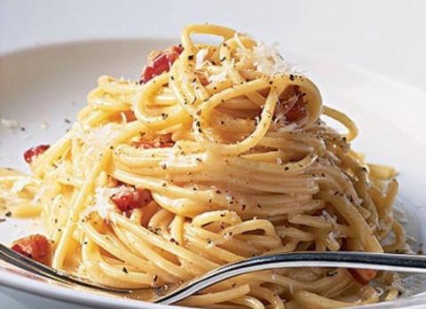 Спагетти а-ля карбонара. Люб…