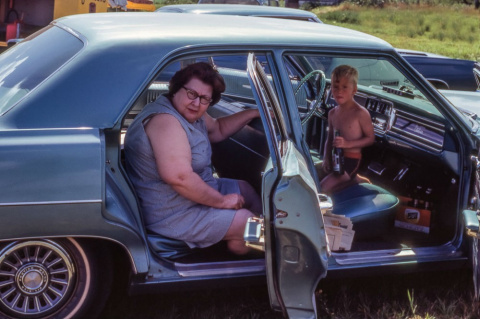 Автомобильная Америка 60-х