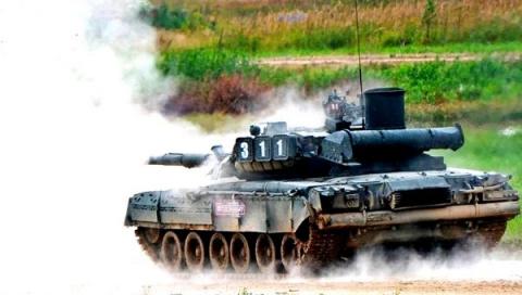 Российский реактивный танк п…