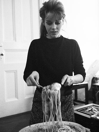 В гостях у Джейн Фонды, 1960 годы.