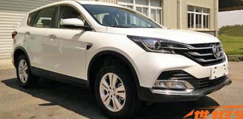 Dongfeng рассекретил обновленный кроссовер AX7