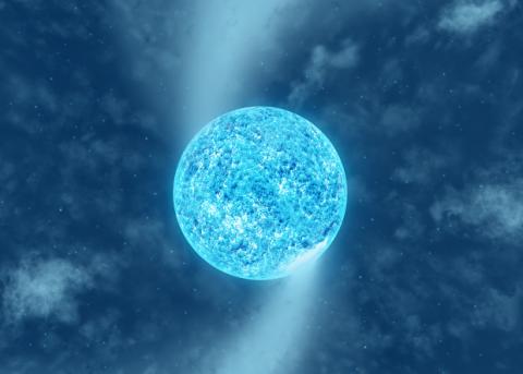 Пятна на звездах-сверхгигантах «закрутили» вихри в звездном ветре