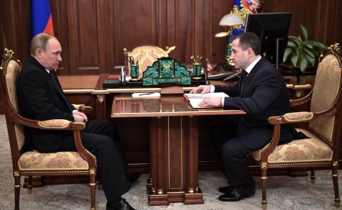 Встреча с полпредом Президента в Приволжском федеральном округе Михаилом Бабичем