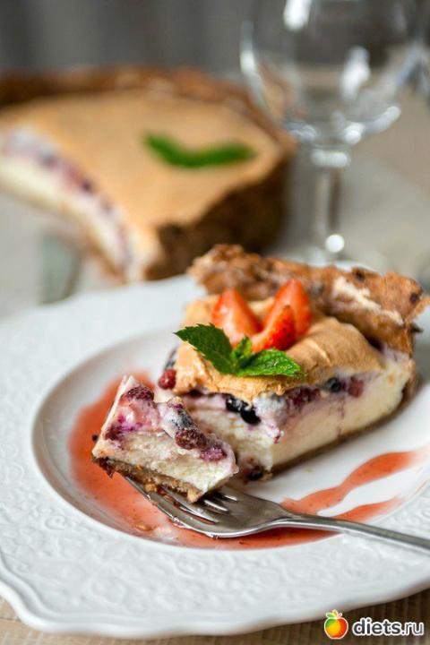 Вкуснейший ягодный десерт с …