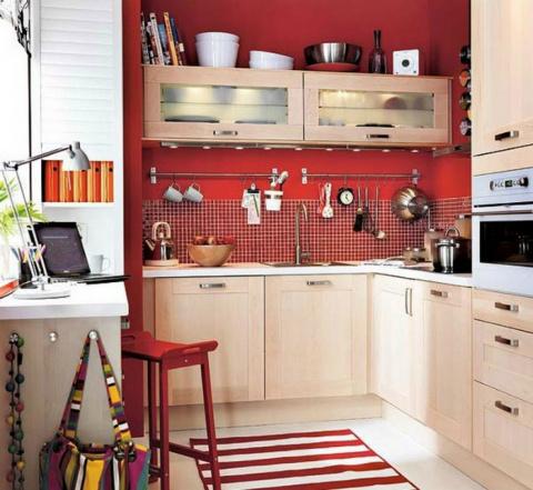 Расширяем возможности маленьких кухонь  —  10 оригинальных и эргономичных идей