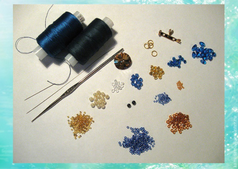 плетём морского дракончика