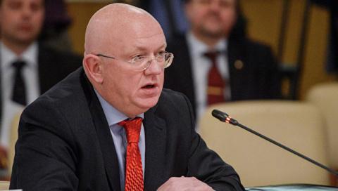 Россия просит ООН проверить информацию о поставках Великобританией и США химоружия в Сирии