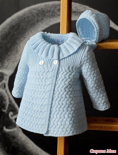 Прелестное пальто для девочки