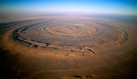 Глаз Сахары: самый загадочны…