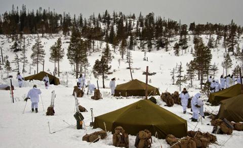 ИноСМИ: Морпехи США испугалась норвежской погоды