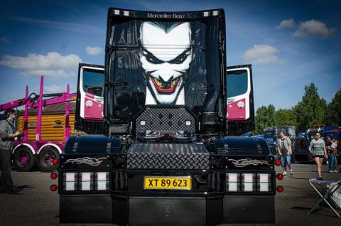 Фестиваль самых крутых грузовиков (40 фото)