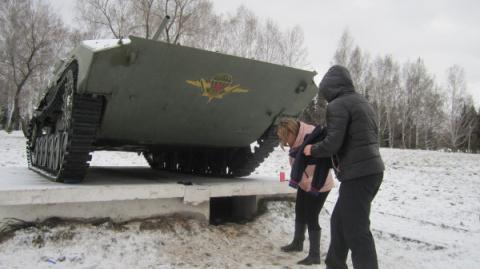 Четверо маленьких «танкистов…