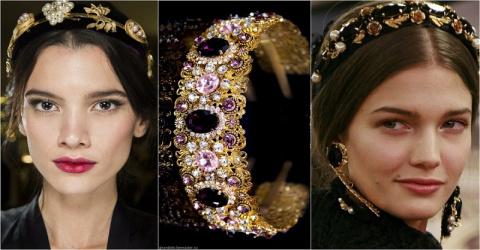 Обруч с камнями — самый стильный аксессуар этого года! 10 образов для царицы в повседневной жизни