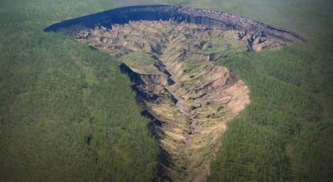 Загадочные кратеры в России …