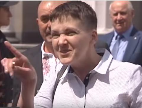 Так проходит мирская слава: украинское ТВ начало травлю Надежды Савченко (ВИДЕО)