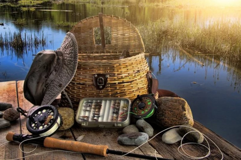 Немецкая рыбалка на русском берегу