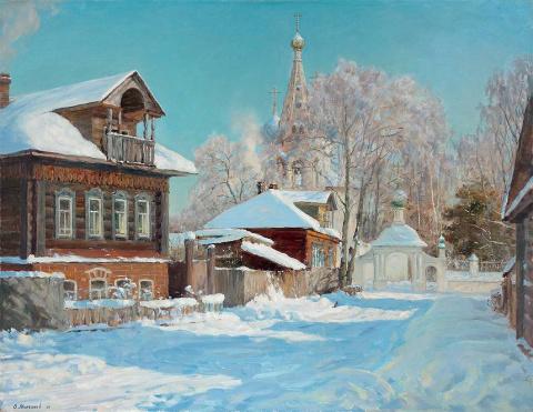 Прекрасная русская зима, худ…