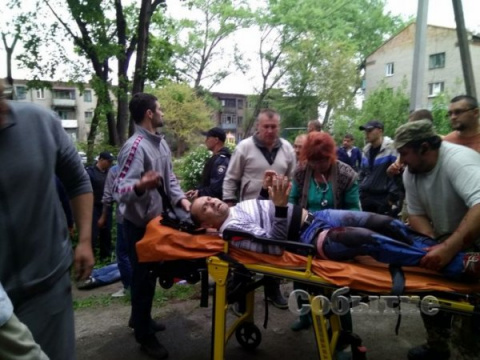 Охрана Яроша расстреляла таксиста за отказ ответить на «Слава Украине»