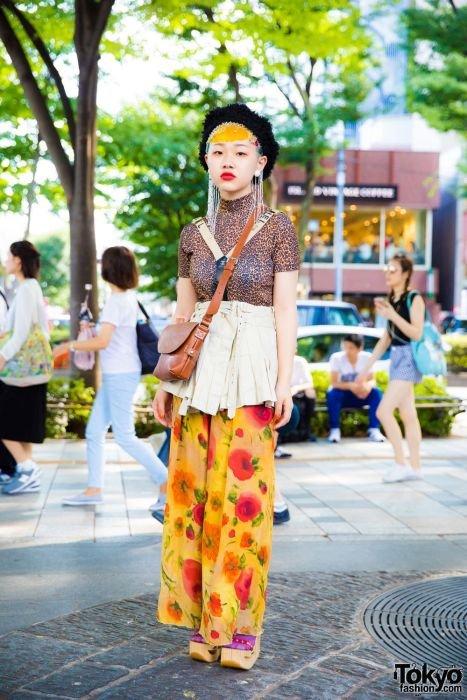 Модники и модницы на улицах …