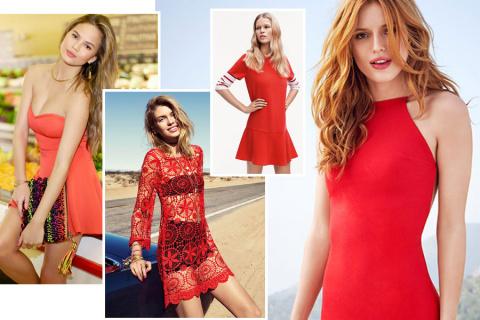 Красное платье 2017: кому подходит и с чем его носить