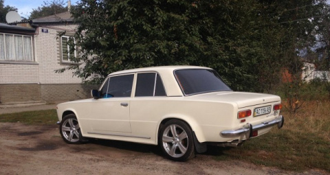 Лада-купе с баварским сердцем: яркий украинский тюнинг ВАЗ-2101