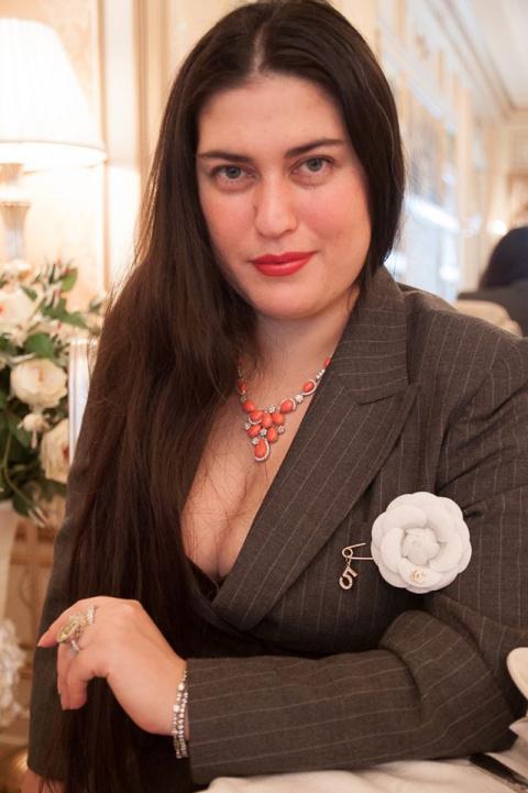 Княгиня  Рина Наумова-Дэвис