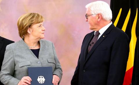 Персональный вопрос фрау Меркель