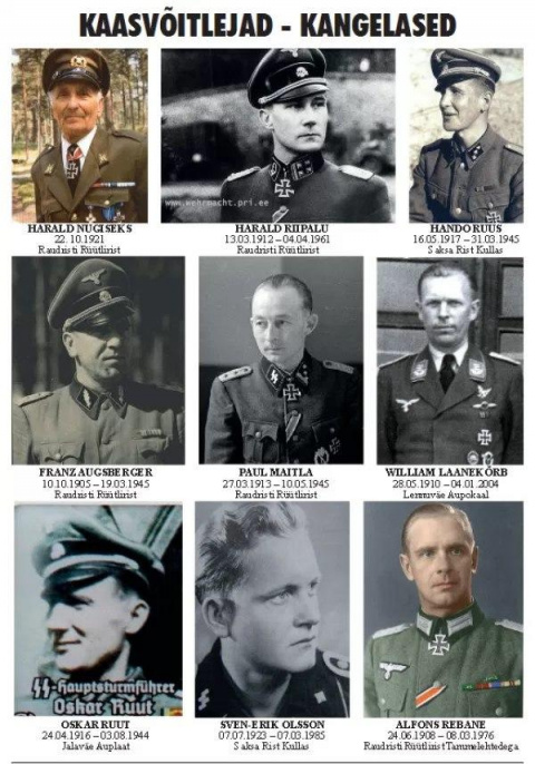 Вклад Эстонцев В «Чистоту Арийской Расы»