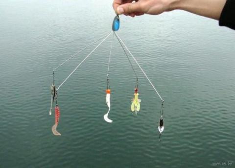 Зонтик - снасть на Хищную Рыбу!!!