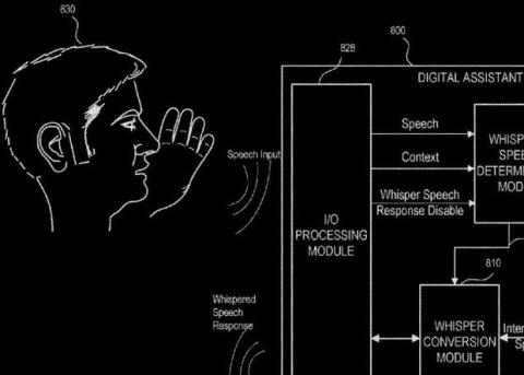 Apple запатентовала шепчущую Siri
