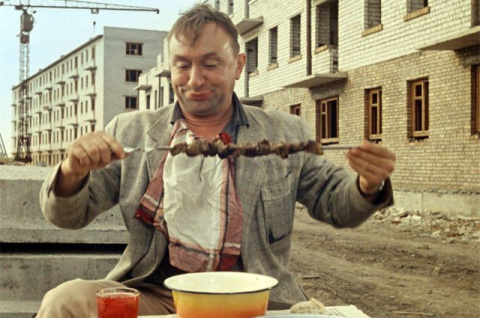 Погоня в Москве, обед в Одес…